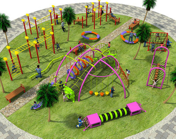 Inventory of popular outdoor children's play projects